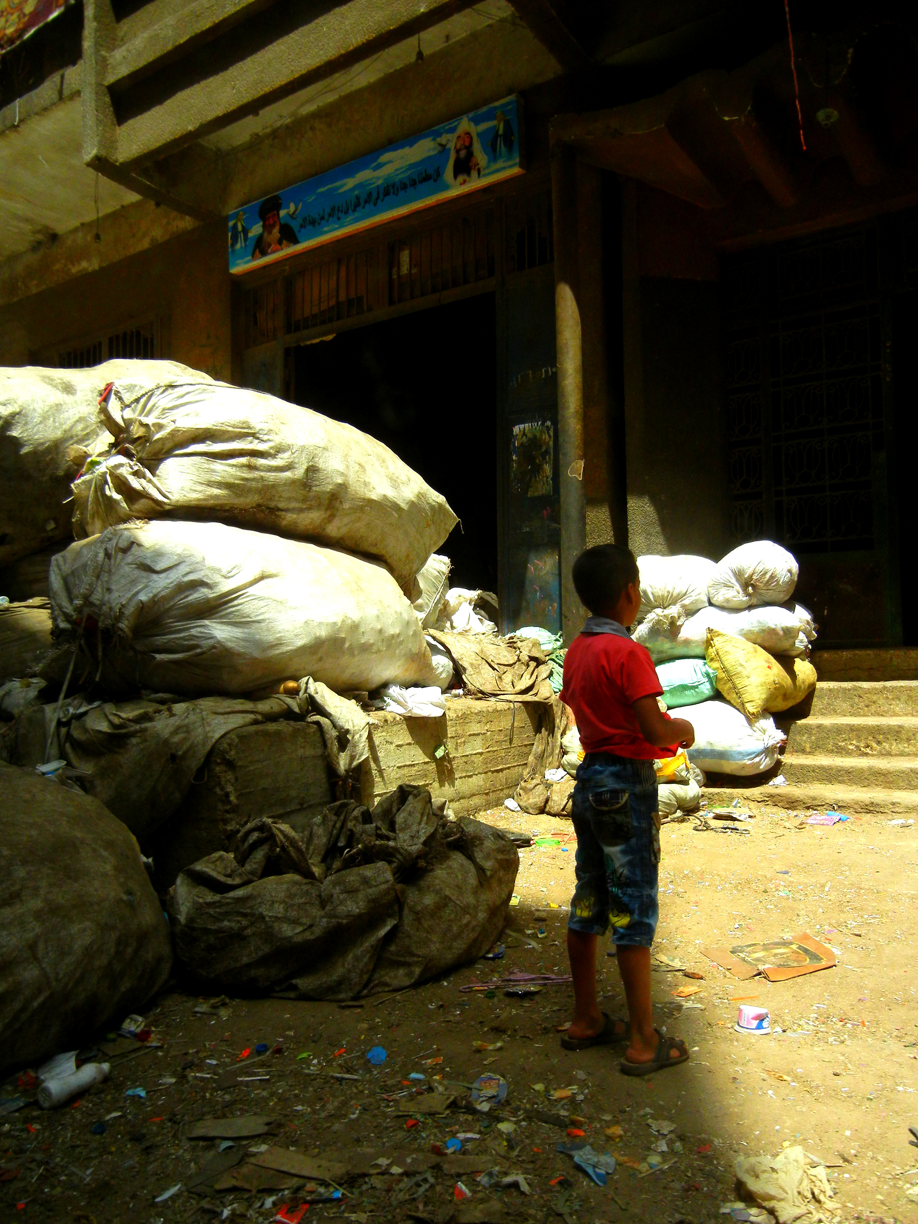 inside cairo s garbage city slums waste management and cairo garbage city 5